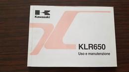 1) Kawasaki KLR 650 1999 Manuale Uso Originale - Genuine Owner's Manual - Bedienungsanleitung - Moto