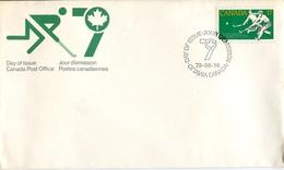 21632 Canada, Fdc 1979  Field Hockey, Hockey Sur Gazon, Ottawa