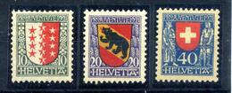 1919 SVIZZERA SERIE COMPLETA * - Svizzera