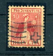 1917 SVIZZERA N.156 USATO - Suisse