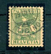 1917 SVIZZERA N.155 USATO - Suisse