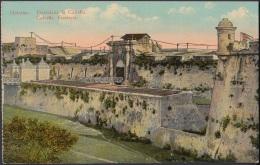 POS-793 CUBA POSTCARD CIRCA 1915. HABANA, CABAÑA CASTLE. CASTILLO DE LA CABAÑA. - Cuba