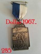 Medaille :Netherlands  - W.S.V Holland Enschede 3-4-9-1960 - Walking Association . - Netherland
