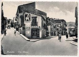 MISTRETTA (ME) VIA ROMA - ANIMATA & BELLA, 1955 - Messina