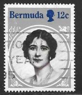 Bermuda, Scott # 469 Used Queen Mother Birthday, 1985 - Bermuda