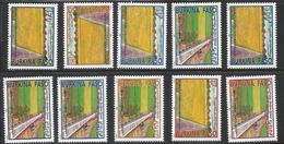 2003 Burkina Faso Cooperation Taiwan Agriculture Rice Farm Aquaduct  Complete Set Of 10 MNH - Burkina Faso (1984-...)