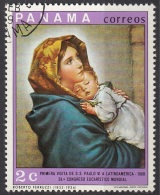 "496A Panama 1069 ""La Madonnina"" Quadro Dipinto Da R. Ferruzzi Paintings Tableaux"