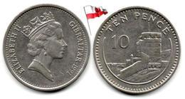 Gibraltar - 10 Pence 1991 - Gibilterra