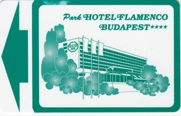 CHIAVI ELETTRONICHE DI PARK HOTEL FLAMENCO - BUDAPEST - Cartas De Hotels