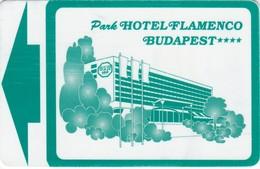 CHIAVI ELETTRONICHE DI PARK HOTEL FLAMENCO - BUDAPEST - Chiavi Elettroniche Di Alberghi