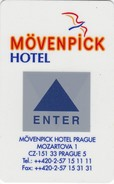 CHIAVI ELETTRONICHE DI MOVENPICK HOTEL - PRAGUE - PRAGA - Chiavi Elettroniche Di Alberghi