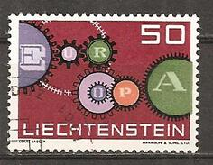 Liechtenstein 1961 // Michel 414 O