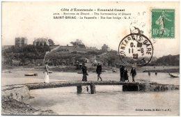 35 SAINT-BRIAC - La Passerelle      (Recto/Verso) - Saint-Briac