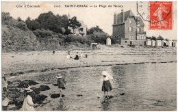 35 SAINT-BRIAC - La Plage Du Nessey    (Recto/Verso) - Saint-Briac