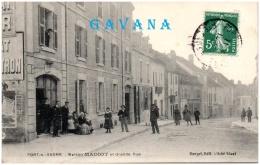 70 PORT-sur-SAONE - Maison Madiot Et Grande Rue      (Recto/Verso) - France