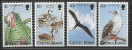 1998 Cayman Islands Birds Parrot Complete Set Of 4 MNH - Caimán (Islas)