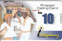 NETHERLAND ANTILLES - Couple, I Telephony Prepaid Card Ang. 10, Exp.date 30/06/01, Used - Antilles (Netherlands)