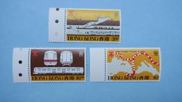 Hong Kong Stamp , Hong Kong  1980  Y/T   N° 354 à 356   Neuf ** - Nuovi