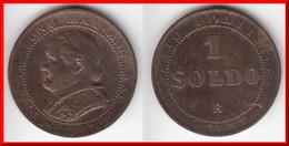 **** ITALIE ETATS PAPAUX - ITALIA PAPAL STATES - 1 SOLDO 1867 - 5 CENTESIMI 1867 XXIR PIUS IX **** EN ACHAT IMMEDIAT !!! - Vaticano (Ciudad Del)