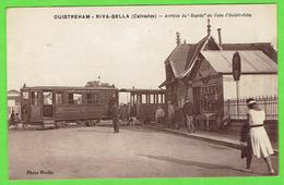 """14- Ouistreham - Arrivée Du """" Rapide"""" En Gare D'ouistreham - Ouistreham"""