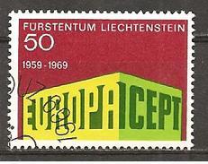 Liechtenstein 1969 // Michel 507 O