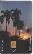 CUBA - Atardecer, Tirage 30000, 06/01, Used - Cuba