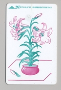 UKRAINE - Kyiv - 1997 - Phonecard Telecard Chip Card 1680 Units - Flower Pot - Ukraine