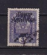 West Ukraine, 1919, Double Overprint,  Used