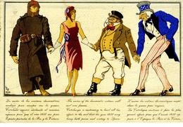 1938 Tarjeta Ilustrada  De Propagada Hasta Paris Tarifa Reduida D  Ref EL592 - 1931-Hoy: 2ª República - ... Juan Carlos I