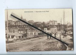 CPA -  Montdidier  -  Panorama Vu Du Pont - Montdidier