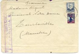 1936 Carta Con Viñeta De FRENTE POPULAR De CASTELLON   Ref EL593