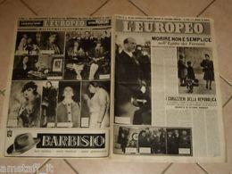 EUROPEO 1948/2=UMBERTO DI SAVOIA=LINA BRUNA RASA=MARIO APOLLONIO=SCHIAPARELLI E. - Old Paper