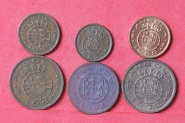 ANGOLA    - 6 COINS     - (Nº10338) - Angola