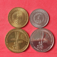 ANGOLA    - 4 COINS     - (Nº10343) - Angola