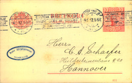 1912,Karte Mit Seltenem Maschinenwerbestempel OLYMPISKA SPELEN STOCKHOLM 4.5.12 Nach Hannover.