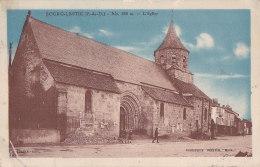 Cpa BOURG LASTIC - L'Eglise - France