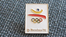 Pin's JEUX OLYMPIQUES BARCELONA 92 - Olympic Games