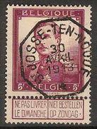 Nr. 122 Met PRACHTIGE Telegraafstempel ST JOSSE - TEN - NOODE En In Goede Staat (zie Ook Scan) ! Inzet Aan 15 Euro ! - 1912 Pellens