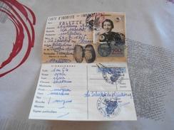 137 - Carte D'Identité , Mairie De LA SALVETAT , Hérault, Délivrée  Le 12 Juillet 1955