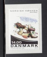 Denmark MNH 2014 14DKK Apple Porc - Nordic Cuisine - Alimentation