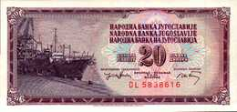 YOUGOSLAVIE 20 DINARA  Du 19-12-1974  Pick 85  UNC/NEUF - Yougoslavie