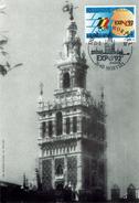Belgie 1992 - EXPO 92 Sevilla - Afstempeling:  Mortsel - - 1992 – Séville (Espagne)