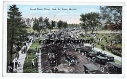 Grand Drive, Forest Park, St. Louis, Alte Ansichtskarte 1927 - St Louis – Missouri