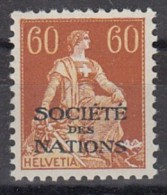 SCHWEIZ  ÄMTER  Völkerbund (SDN) 10 X, Postfrisch ** - Service