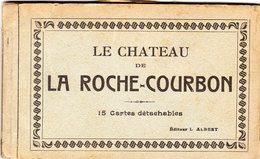 ALBUM  LE CHATEAU DE LA ROCHE COURBON 15 CARTES - Ile De Ré