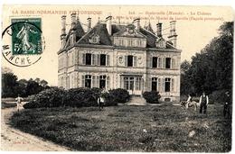 CPA Gouberville, Le Château - Autres Communes