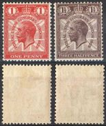 E088) G.B. KING GEORGE V - 1929 UPU MLH WITH INVERTED WATERMARK - 1902-1951 (Re)