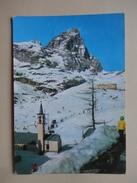 Cervinia - Valtournenche - Aosta - La Chiesa E I Campi Di Sci - Aosta