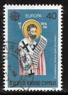 Cyprus, Scott # 533 Used Europa, 1980 - Chypre (République)