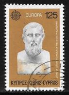 Cyprus, Scott # 534 Used Europa, 1980 - Chypre (République)